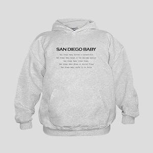 San Diego Baby Kids Hoodie