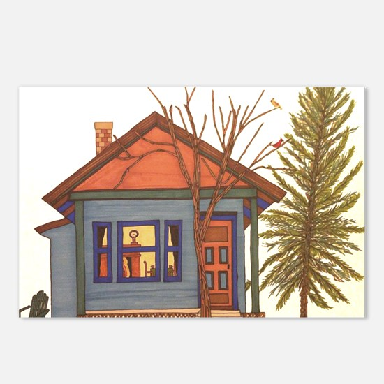 Drawn Home: Little Blue C Postcards (Package of 8)