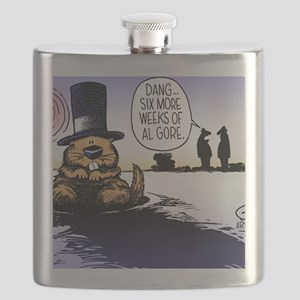 Groundhog Day Flask