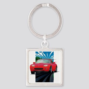 ovide - Japan 2 Square Keychain