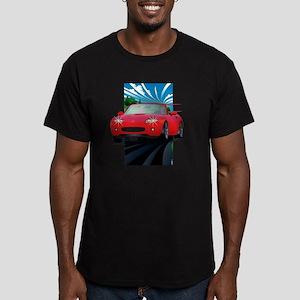 ovide - Japan 2 Men's Fitted T-Shirt (dark)