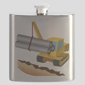 Construction Equipment Flask