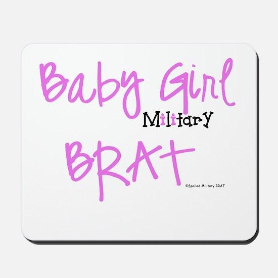 Baby Girl BRAT Mousepad