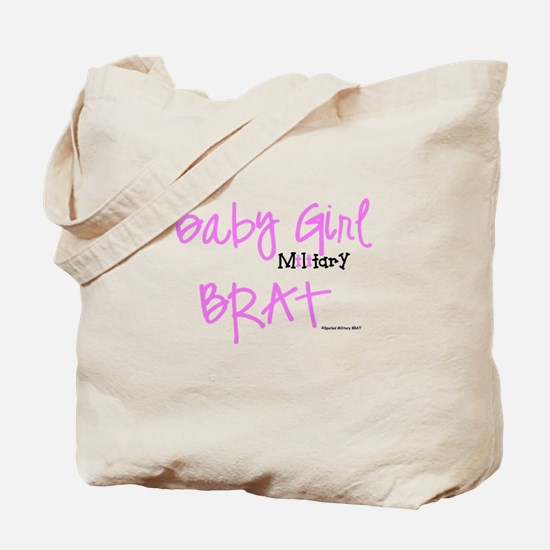 Baby Girl BRAT Tote Bag