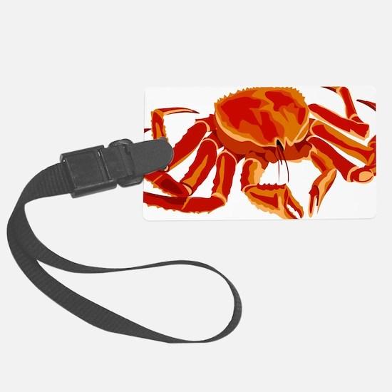 King Crab Luggage Tag
