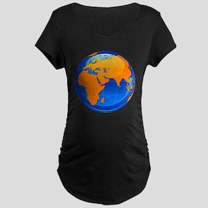 Globe Maternity Dark T-Shirt