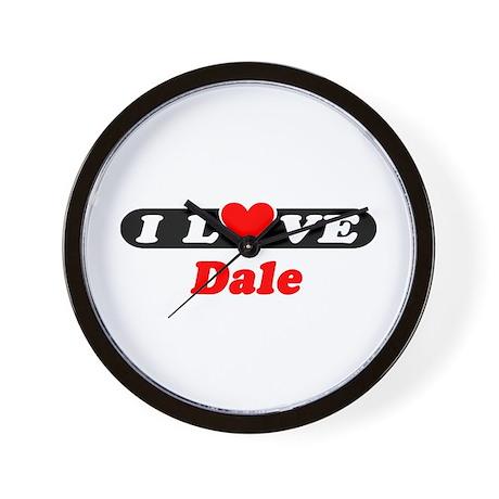 I Love Dale Wall Clock