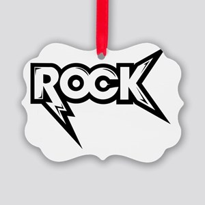 Big Brothers Rock Picture Ornament
