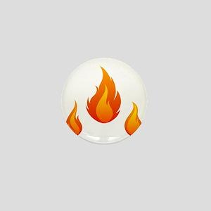 Flame Mini Button