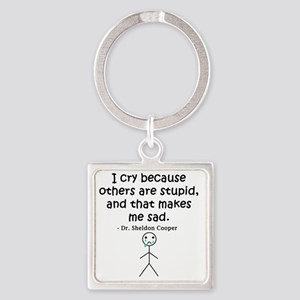 Big Bang Others Are Stupid Square Keychain