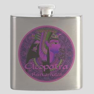 Cleopatra Reincarnated Ruby Carpet Flask
