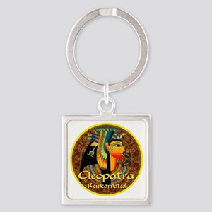 Cleopatra Reincarnated Persian Car Square Keychain