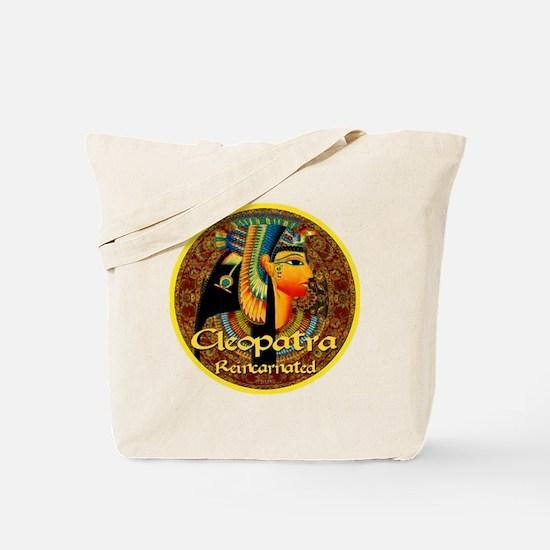 Cleopatra Reincarnated Persian Carpet Tote Bag