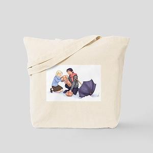 Lucy and Mr. Tumnus / Carmen the Centaur -Tote Bag