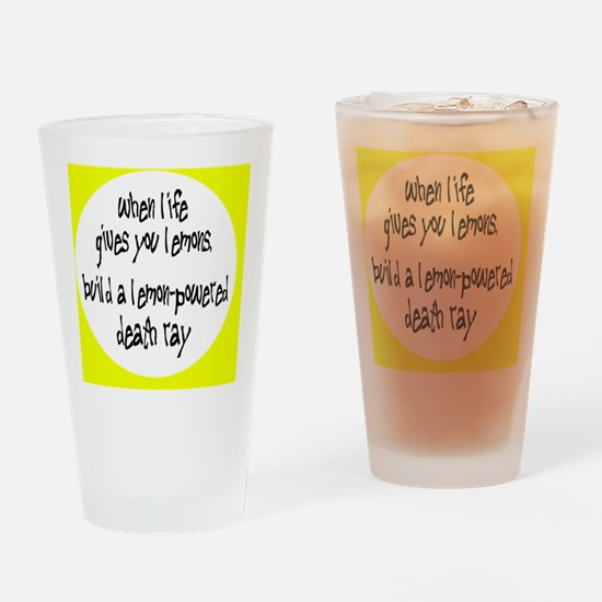 lemonsbutton Drinking Glass