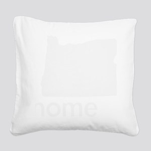 Home Square Canvas Pillow