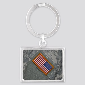 These are my colors Landscape Keychain