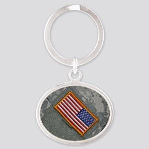 These are my colors Oval Keychain