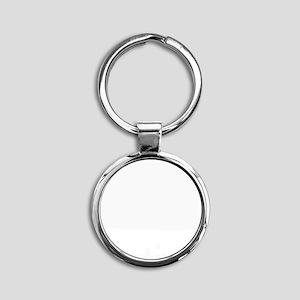 Native Round Keychain