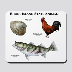 Rhode Island State Animals Mousepad