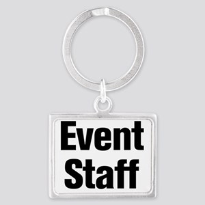 Event Staff Landscape Keychain