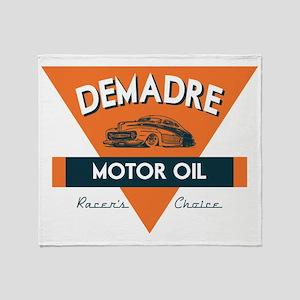 DeMadre Motor Oil Throw Blanket