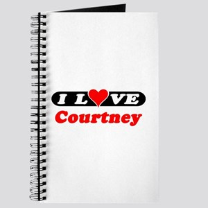 I Love Courtney Journal