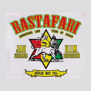 Rastafari Throw Blanket