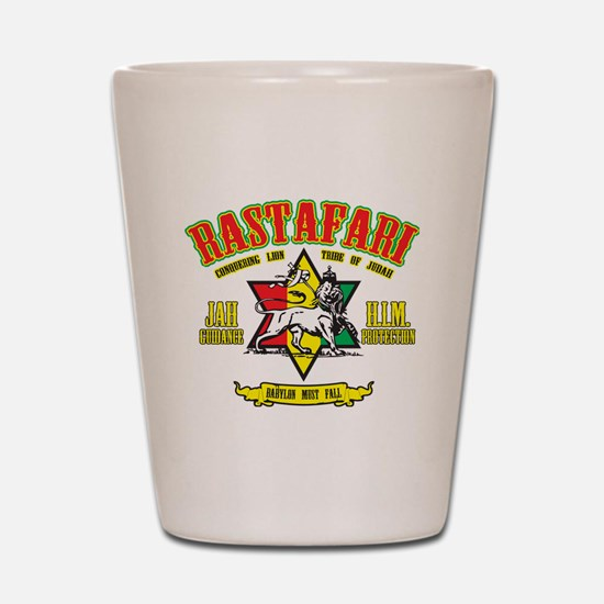 Rastafari Shot Glass