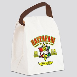 Rastafari Canvas Lunch Bag