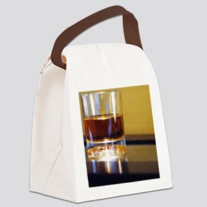 whisky lit up Canvas Lunch Bag