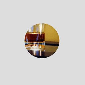 whisky lit up Mini Button