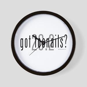 26.2 - Got Toenails? Wall Clock