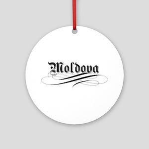 Moldova Gothic Ornament (Round)
