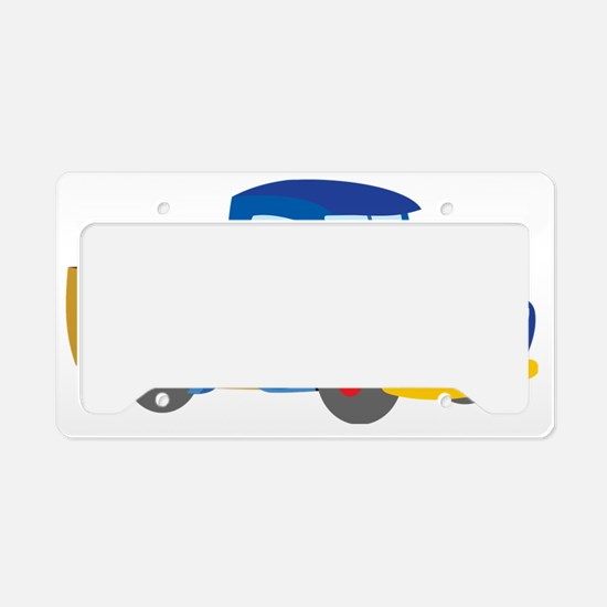 Toy Pickup Truck License Plate Holder