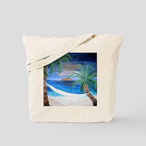 Hammock Sunset Tote Bag