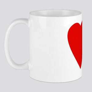 I heart URPs BLK Mug