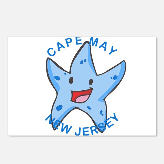 New Jersey - Cape May Postcards (Package of 8)