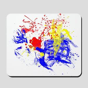 Primary Splatter Mousepad