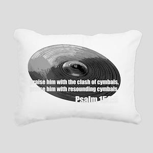 Christian Drummer Rectangular Canvas Pillow