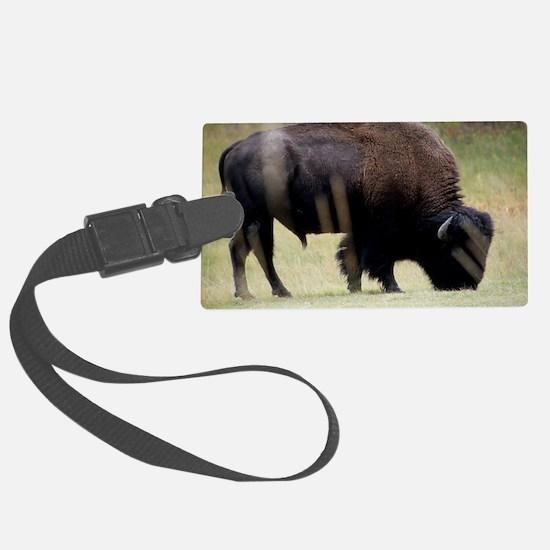 Big Buffalo in Yellowstone Park Luggage Tag