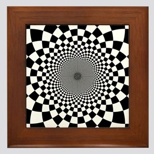 psychedelic checkerboard wall art cafepress