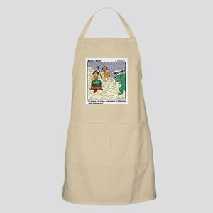 HONEY I'M HOME AND DINNER BBQ Apron