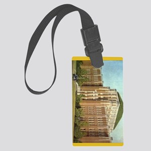 Neille cback cover Large Luggage Tag