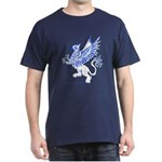 Graphic Gryphon Blue / White Dark T-Shirt