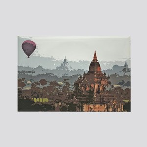 bagan1 Rectangle Magnet
