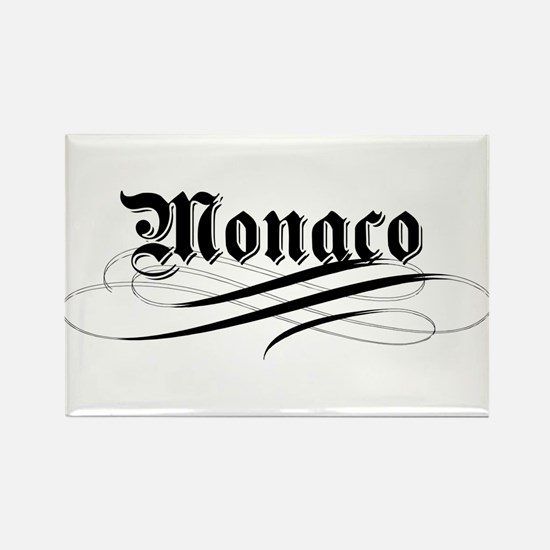 Monaco Gothic Rectangle Magnet (100 pack)