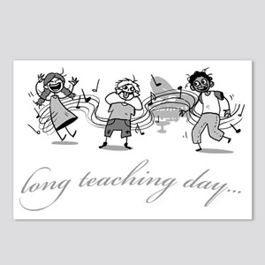 Long Teaching Day Postcards (Package of 8)