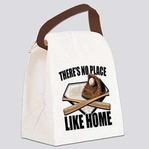 NoPlaceLikeHome copy Canvas Lunch Bag