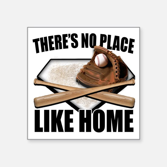 """NoPlaceLikeHome copy Square Sticker 3"""" x 3"""""""